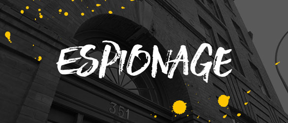 Espionage live escape room at Escapism Chester