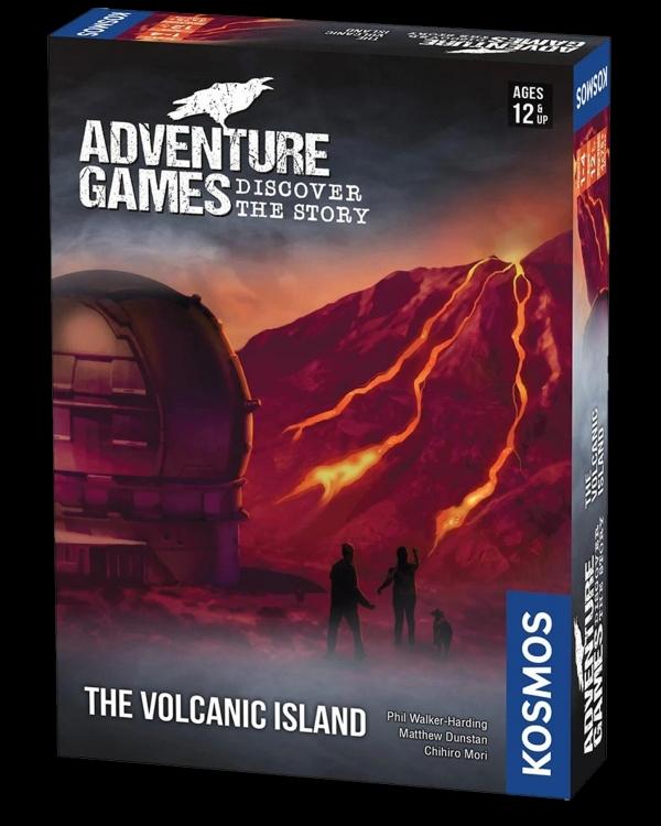 Adventure Games - The Volcanic Island