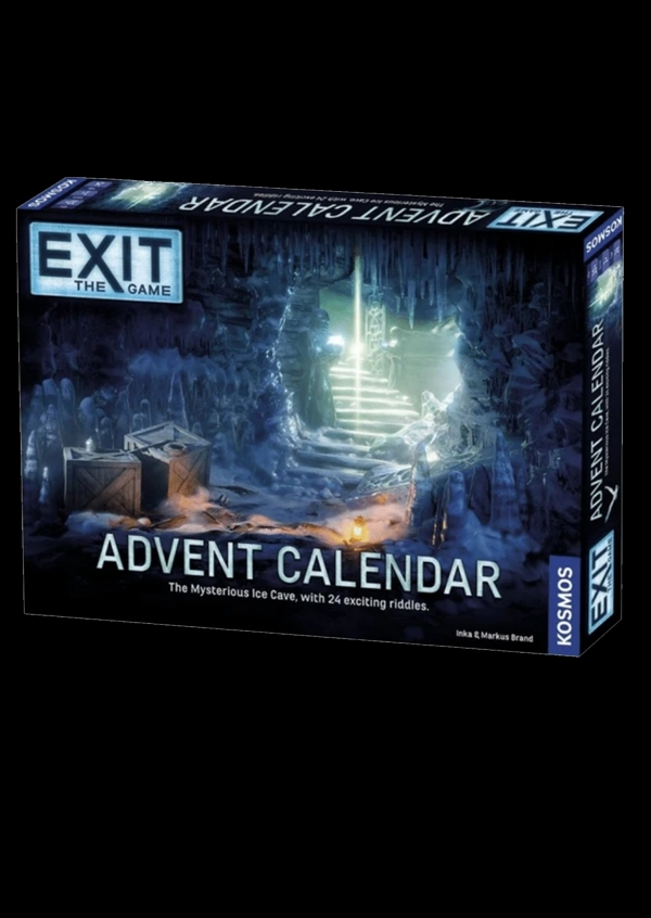 1.  EXIT - Christmas Advent Calendar - The Mystery of The Ice Cave