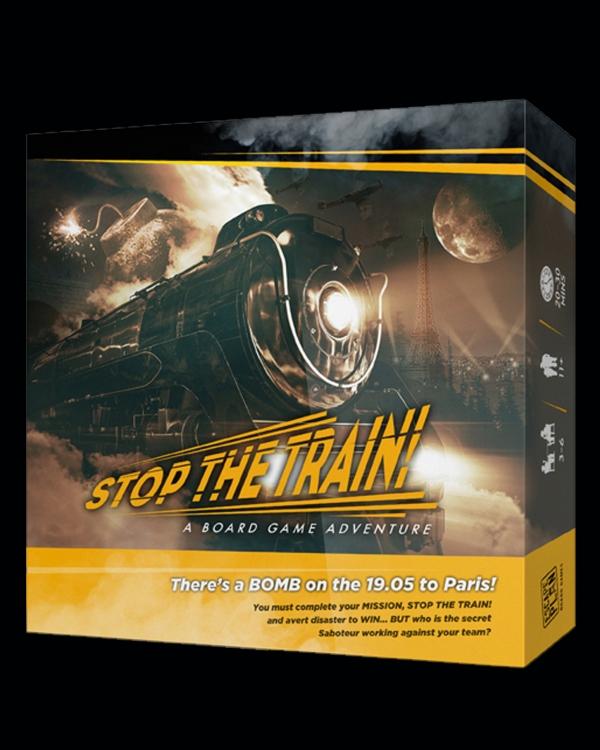 Stop the Train - A Board Game Adventure